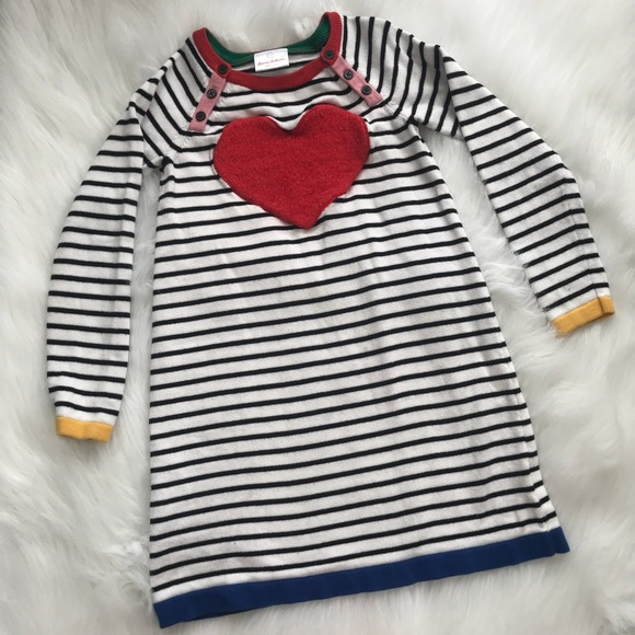 52087cc01a Hanna Andersson Other - Hanna Andersson Heart Girls Sweater Dress Size 130